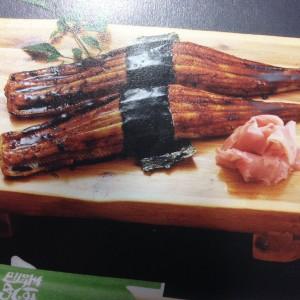 このお店の鉄板オーダー 「あなご寿司」 炙っている時からいい香り